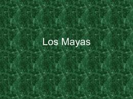 La religión de los Maya