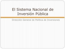 Nueva Directiva General del SNIP