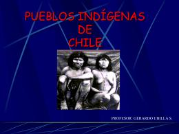 PUEBLOS INDIGENAS DE CHILE