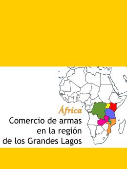África: Comercio de armas en la región
