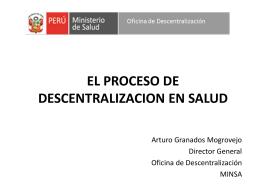 Oficina de Descentralización