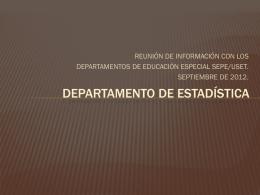 Registro histórico de alumnos en los CAM