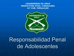 Responsabilidad Penal de Adolescentes