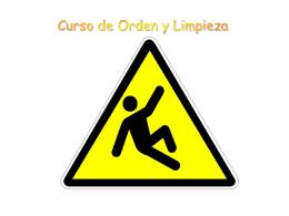 ORDEN Y LIMPIEZA - Apuntes Formacion y