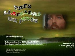 Tres llamadas de Jeúss