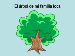 El árbol de mi familia loca