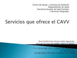 Centro de Ayuda a Victimas de Violacion