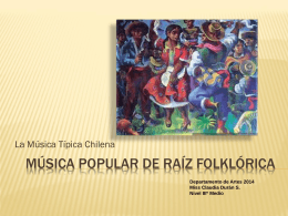 Música Popular de Raíz Folklórica