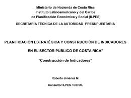 PLANIFICACION ESTRATEGICA Y CONSTRUCCION DE