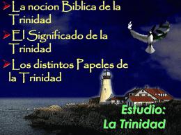 Estudio: La Trinidad - VidaNueva-com