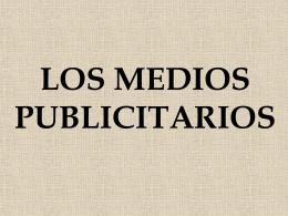 Diapositiva 1 - PLANEACIÓN DE MEDIOS