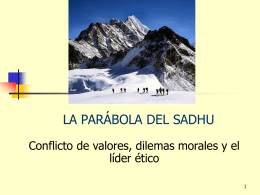 LA PARÁBOLA DEL SADHU - UCEMA | Universidad del