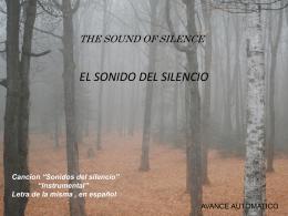 SONIDOS DEL SILENCIO