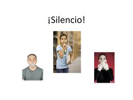 Silencio - Loudoun County Public Schools /