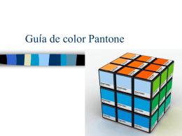 Guía de color Pantone - Artcubo