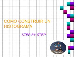 COMO CONSTRUIR UN HISTOGRAMA