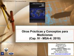 05 - MSA-4: 2010 - Auto Consulting