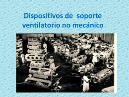Dispositivos de soporte ventilatorio no mecánico