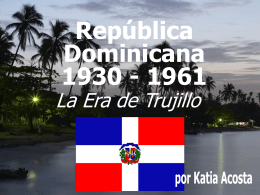 Republica Dominicana 1930