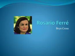 Rosario Ferré - CSWSpanish