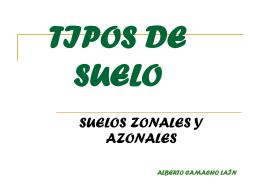 EL SUELO - BioGeoAlarcos