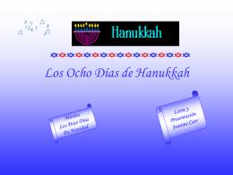 Los Ocho Días de Hanukkah