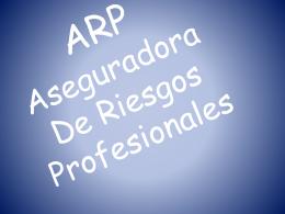 ARP - finanzasycontabilidad