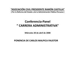 CUATRO EJES DE ANÁLISIS Y PROPUESTA 1.