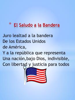 El Saludo a la Bandera - Tracy Unified School