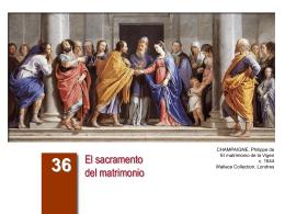 El sacramento del matrimonio - Arguments -
