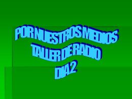Diapositiva 1 - Pornuestrosmedios`s Blog