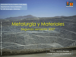 Metalurgia y Materiales - RAMOS ON