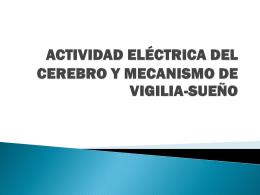ACTIVIDAD ELÉCTRICA DEL CEREBRO Y MECANISMO DE