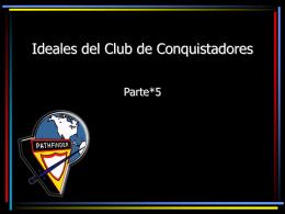 Ideales del Club de Conquistadores
