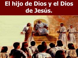 El Dios de Jesús