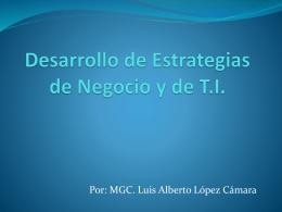 Desarrollo de Estrategias de Negocio y de T.I.