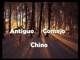 Antiguo Consejo Chino