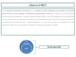¿Qué es el NEC? - Feria del Libro Infantil y