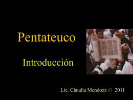 El Pentateuco - UCA Pontificia Universidad