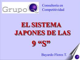 """EL SISTEMA DE LAS 9 """"S"""" JAPONES"""