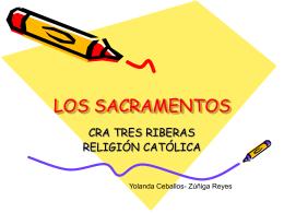 LOS SACRAMENTOS - PARROQUIA SAN MARCOS