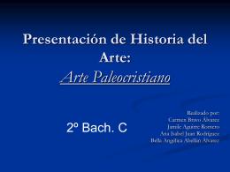 Presentación de Historia del Arte: Arte