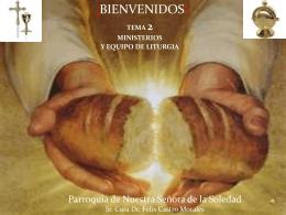 Diapositiva 1 - El Evangelizador de Santa María