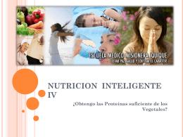NUTRICION INTELIGENTE - La Voz del que Ve | …