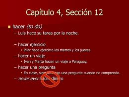 Capítulo 4, Sección 12