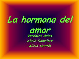 La hormona del amor