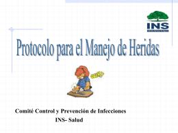 PROTOCOLO DEL PROCEDIMIENTO DE CURACIONES