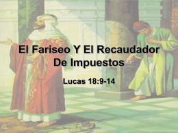 El Fariseo Y El Recaudador De Impuestos