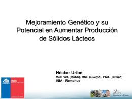 Presentación - Consorcio Lechero