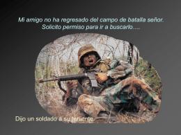 Soldado un Historia de Amistad.